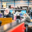 Nation Railway Museum pictures - A candid shot of a man drinking a cup of tea