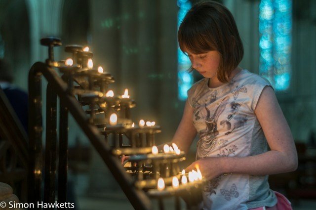 Found a space for another candle in York Minster