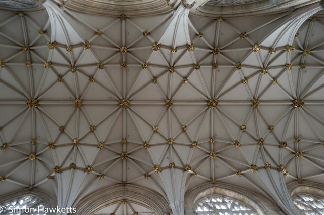 Sony Nex 6 pictures - Roof detail in York Minster
