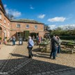 Beningborough Hall pictures - Selling plants in the National Trust plant sale
