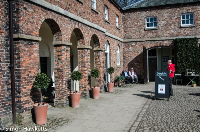 Beningborough Hall pictures - By the gift shop