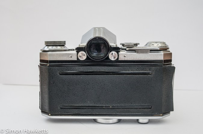 Edixa Reflex D back view
