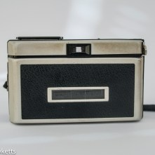 Kodak Instamatic 300 126 film camera showing back of camera