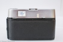 Voigtlander Dynamatic II 35mm rangefinder camera showing back of camera