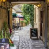 Tea rooms in Chipping Campden off the High Street