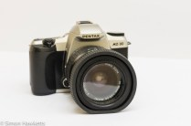 Pentax MZ-30 35mm Autofocus slr with Sigma zoom lens fitted