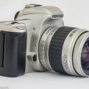Pentax MZ-60 QD 35mm autofocus slr side view