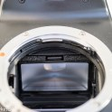 Pentax Z-1 35mm autofocus slr showing replaceable focus screen