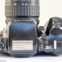 Pentax Z-1 35mm autofocus slr showing top view of camera