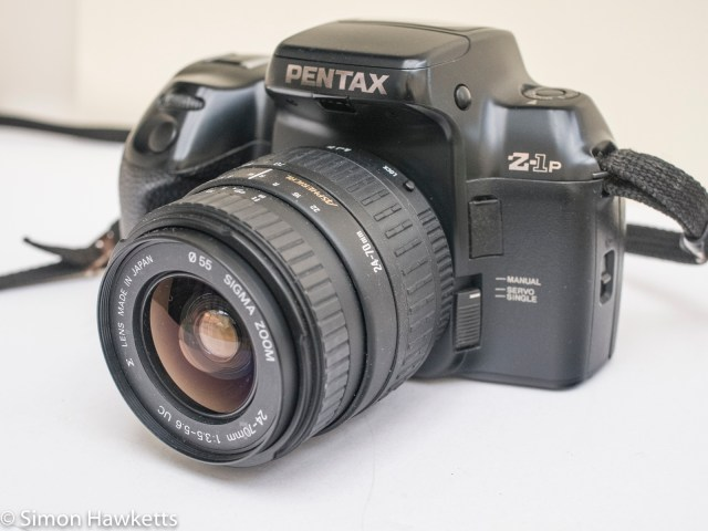 Pentax Z-1P 35mm auto focus slr - made with slightly different material from the z-1