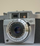 Agfa silette 35mm viewfinder camera 1