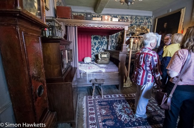 A room interior in Showshill Manor