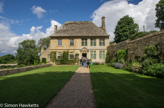A view of Showshill Manor