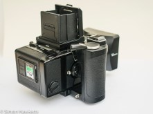 Bronica ERTsi rear view