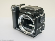 Bronica ETRsi camera body and grip