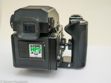 Bronica ETRsi view from behind camera