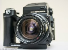 Bronica ETRsi with 40mm lens
