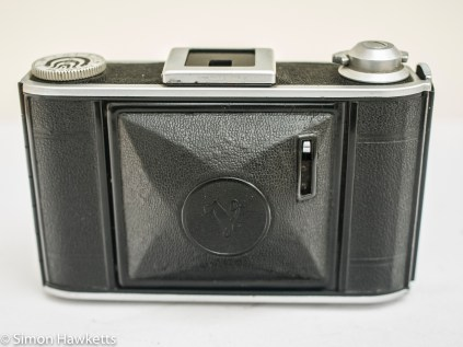 Voigtlander Bessa 66 with lens closed