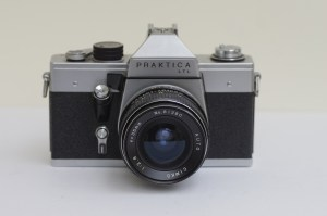 Praktica LTL 35mm SLR front view
