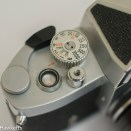 Soligor TM 35mm slr camera showing shutter speed, film advance and release
