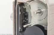 Bell & Howell 624 8mm movie camera - Film transport mechanism