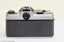 Chinon CX 35mm slr rear view