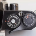 Pentax Spotmatic ES 35mm slr showing shutter speed, film advance and shutter release