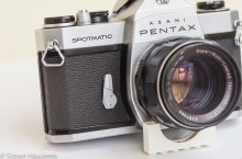 Pentax Spotmatic SP self timer