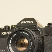 Ricoh KR-10 35mm SLR vintage camera review