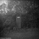 Voigtlander bessa 66 sample picture - An old telephone box in Teverham near Norwich
