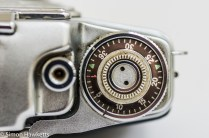 Agfa Ambi Silette 35mm rangefinder camera - Frame advance and counter
