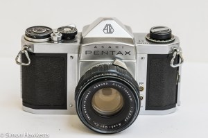Pentax S1 35mm slr - Front view