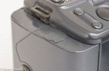 Damage to the battery cover