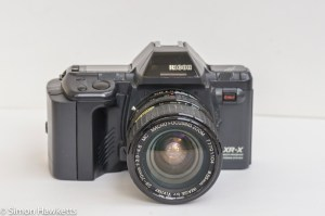 Ricoh XR-X 35mm manual focus slr review 1