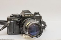 Minolta X-700 35mm slr fitted with Super Ozeck II lens
