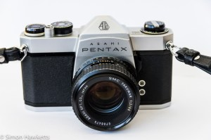 Pentax Spotmatic SP1000 with SMC Takumar
