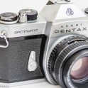 Pentax Spotmatic SPII 35mm slr camera - Self timer