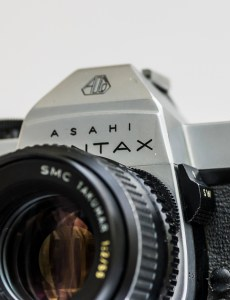 Pentax Spotmatic SPII 35mm slr camera