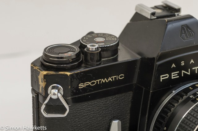Shabby Pentax Spotmatic SPII in black 2