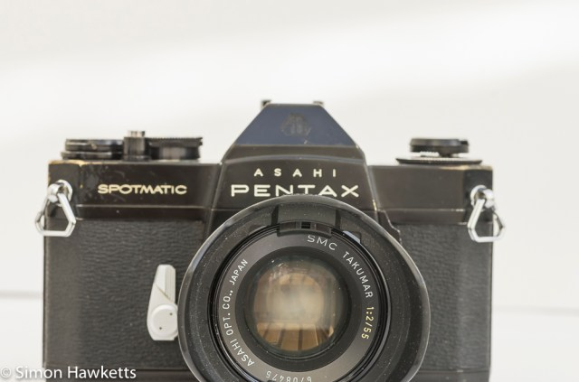 Shabby Pentax Spotmatic SPII in black 4