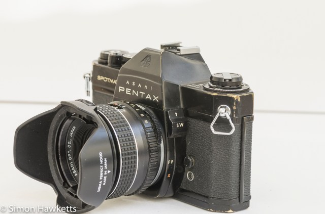 Shabby Pentax Spotmatic SPII in black 7