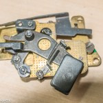 Praktica Super TL slow speed escapement clean and lubricate.