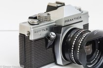 Praktica Super TL3 35mm single lens reflex camera side view