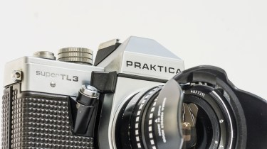 Praktica Super TL3 35mm slr with lens