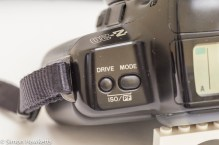 Drive and mode control buttons on the Pentax Z-20