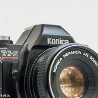 Konica TC-X 35mm manual focus camera