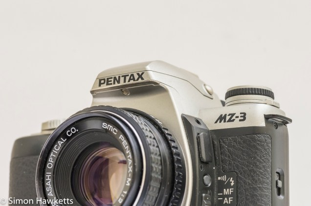 Pentax MZ-3 35mm autofocus camera with SMC Pentax-M lens