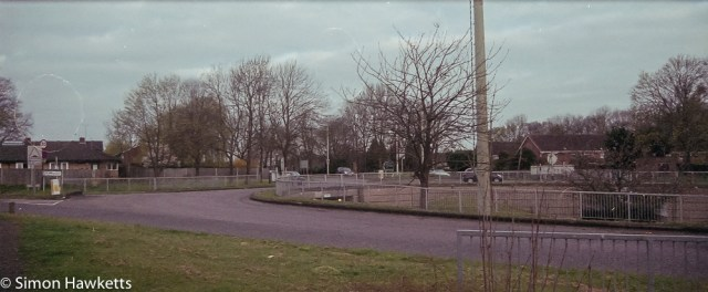 Pentax MZ-3 sample photographs - Panorama of a road junction