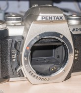 Pentax MZ-5n with mirror stuck in up position