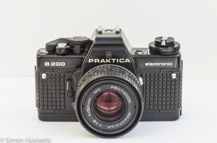 Praktica B200 35mm manual focus camera